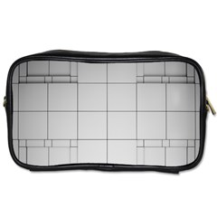 Abstract Architecture Contemporary Toiletries Bags