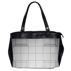 Abstract Architecture Contemporary Office Handbags (2 Sides)