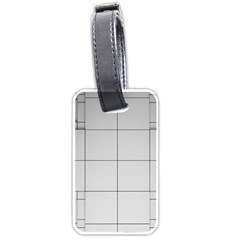 Abstract Architecture Contemporary Luggage Tags (one Side)