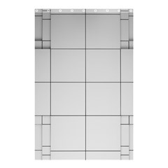 Abstract Architecture Contemporary Shower Curtain 48  X 72  (small)