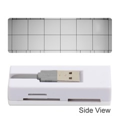 Abstract Architecture Contemporary Memory Card Reader (stick)