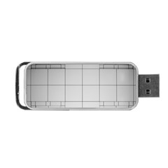 Abstract Architecture Contemporary Portable Usb Flash (two Sides)