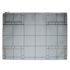Abstract Architecture Contemporary Cosmetic Bag (xxl)