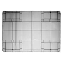 Abstract Architecture Contemporary Samsung Galaxy Tab 10 1  P7500 Flip Case