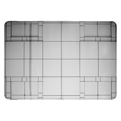 Abstract Architecture Contemporary Samsung Galaxy Tab 8 9  P7300 Flip Case
