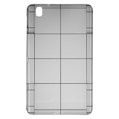 Abstract Architecture Contemporary Samsung Galaxy Tab Pro 8 4 Hardshell Case