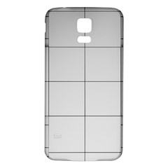 Abstract Architecture Contemporary Samsung Galaxy S5 Back Case (white)