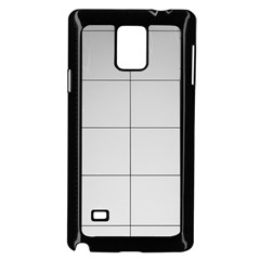 Abstract Architecture Contemporary Samsung Galaxy Note 4 Case (black)