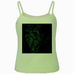 Abstract Art Background Biology Green Spaghetti Tank