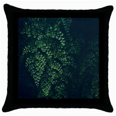 Abstract Art Background Biology Throw Pillow Case (black)