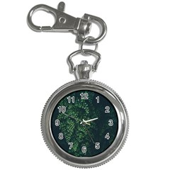 Abstract Art Background Biology Key Chain Watches