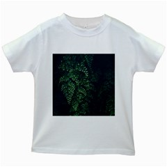 Abstract Art Background Biology Kids White T Shirts