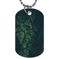 Abstract Art Background Biology Dog Tag (two Sides)