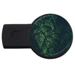 Abstract Art Background Biology Usb Flash Drive Round (4 Gb)