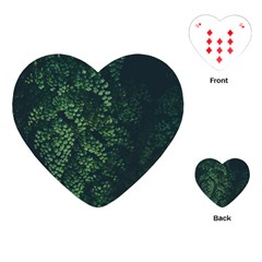 Abstract Art Background Biology Playing Cards (Heart)