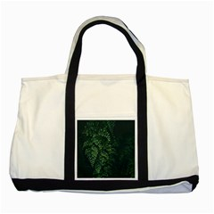 Abstract Art Background Biology Two Tone Tote Bag