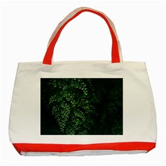 Abstract Art Background Biology Classic Tote Bag (red)