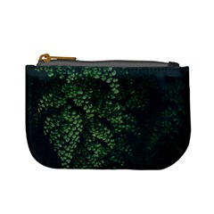 Abstract Art Background Biology Mini Coin Purses