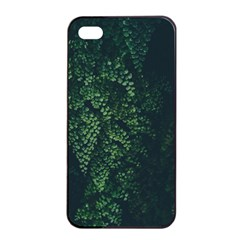 Abstract Art Background Biology Apple Iphone 4/4s Seamless Case (black)