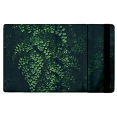 Abstract Art Background Biology Apple Ipad 2 Flip Case