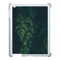 Abstract Art Background Biology Apple iPad 3/4 Case (White)