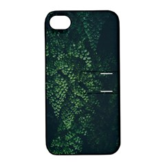 Abstract Art Background Biology Apple Iphone 4/4s Hardshell Case With Stand