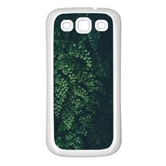 Abstract Art Background Biology Samsung Galaxy S3 Back Case (white)