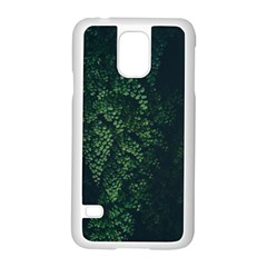 Abstract Art Background Biology Samsung Galaxy S5 Case (white)