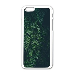Abstract Art Background Biology Apple Iphone 6/6s White Enamel Case