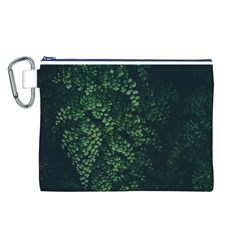 Abstract Art Background Biology Canvas Cosmetic Bag (l)