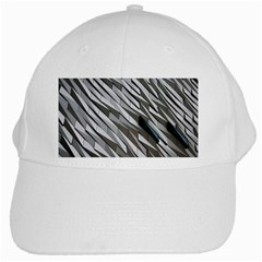 Abstract Background Geometry Block White Cap