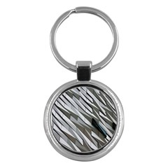 Abstract Background Geometry Block Key Chains (round)