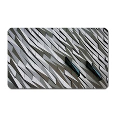 Abstract Background Geometry Block Magnet (rectangular)