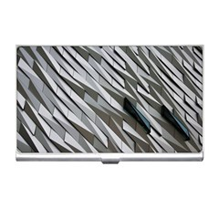 Abstract Background Geometry Block Business Card Holders