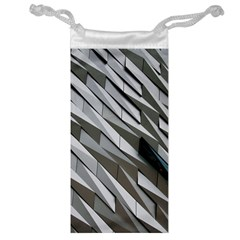 Abstract Background Geometry Block Jewelry Bag