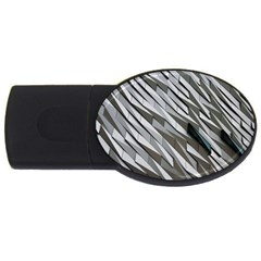 Abstract Background Geometry Block Usb Flash Drive Oval (4 Gb)