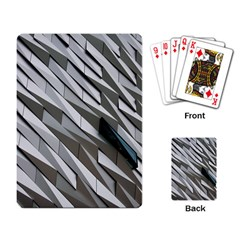 Abstract Background Geometry Block Playing Card