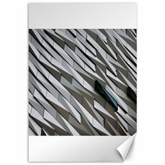 Abstract Background Geometry Block Canvas 12  X 18