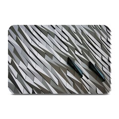 Abstract Background Geometry Block Plate Mats
