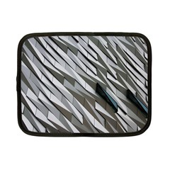 Abstract Background Geometry Block Netbook Case (small)