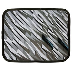 Abstract Background Geometry Block Netbook Case (large)