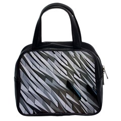 Abstract Background Geometry Block Classic Handbags (2 Sides)