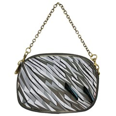 Abstract Background Geometry Block Chain Purses (one Side)