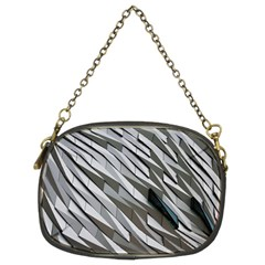 Abstract Background Geometry Block Chain Purses (Two Sides)