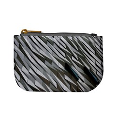Abstract Background Geometry Block Mini Coin Purses