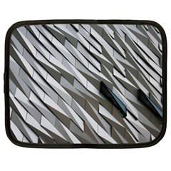 Abstract Background Geometry Block Netbook Case (XL)
