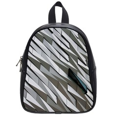 Abstract Background Geometry Block School Bags (small)