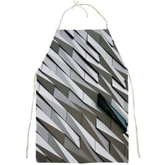 Abstract Background Geometry Block Full Print Aprons