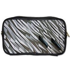 Abstract Background Geometry Block Toiletries Bags 2 Side