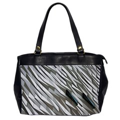 Abstract Background Geometry Block Office Handbags (2 Sides)